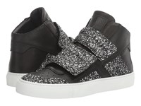 Maison Martin Margiela Mixed Glitter High Top Black Silver Glitter