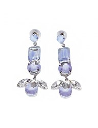 Pixie Market Lilac Drop Earrings