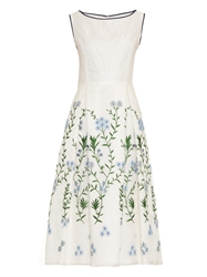 Goat Wendy Embroidered Organza Dress
