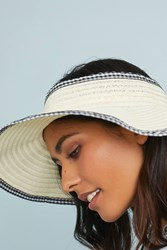 Anthropologie Ida Visor Neutral Motif