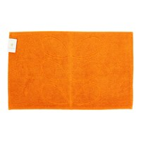 Orla Kiely Stem Jacquard Bath Mat Orange