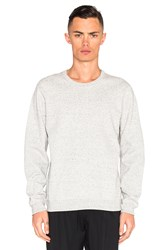Reigning Champ Bonded Terry Crewneck Gray