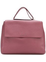 Orciani Soft Tote Pink And Purple