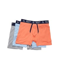 Original Penguin 3 Pack Boxer Brief Set Blue Bell Pack Men's Underwear Multi