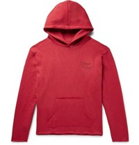 Simon Miller Oversized Logo Embroidered Knitted Cotton Hoodie