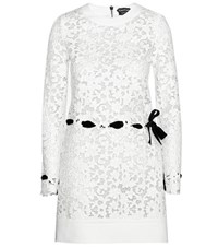 Tom Ford Leather Dress White