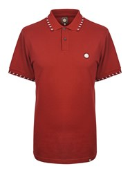 Pretty Green Men's Elmwood Polo Red