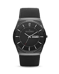 Skagen Melbye Titanium Mesh Bracelet Watch 40Mm Black