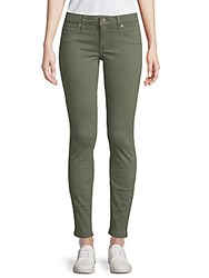 Robin's Jean Classic Skinny Pants Green Army