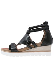 Mjus Tapas Tbar Sandals Nero Black