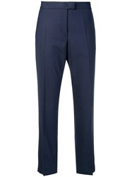 Paul Smith Ps By Cropped Trousers Blue