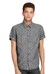Denim And Supply Ralph Lauren Star Cotton Chambray Shirt Vault Star