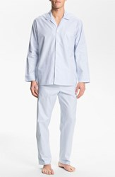 Men's Majestic International Herringbone Cotton Pajamas Surf