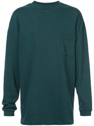 Yeezy Classic Fitted Sweatshirt Cotton S Green