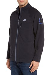 Tommy Bahama Men's 'Nfl Blindside' Knit Zip Jacket Colts