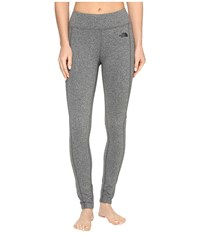 The North Face Pulse Tight Tnf Medium Grey Heather Prior Season Workout Gray