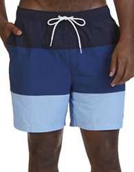 Nautica Big And Tall Quick Dry Color Block Swim