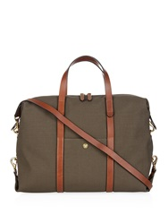 Mismo M S Utility Leather And Canvas Tote