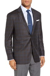Todd Snyder Men's White Label Trim Fit Plaid Wool Sport Coat