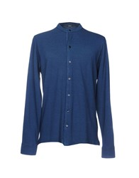 Rossopuro Shirts Dark Blue