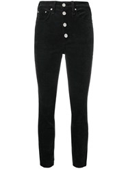 Rag And Bone Corduroy Skinny Trousers Black