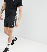 Puma Shorts With Taping In Black Exclusive To Asos