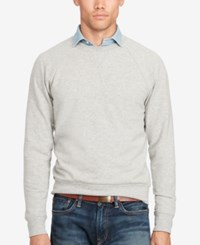 Polo Ralph Lauren Men's Raglan Sweater Andver Grey