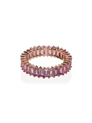 Dana Rebecca Designs 14K Rose Gold And Pink Sapphire Ring Rose Gold Pink