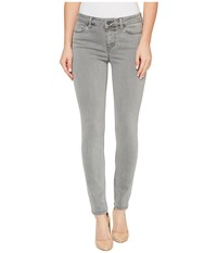 Liverpool Piper Hugger Ankle Skinny With Lift And Shape In Pigment Dyed Slub Stretch Twill In Sharkskin Sharkskin Women's Jeans Gray