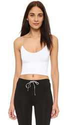 Free People Skinny Strap Brami White