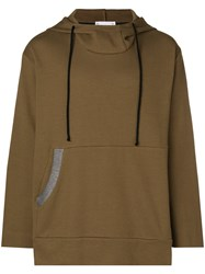 Lost And Found Rooms Oversized Hoodie Brown
