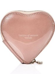 Aspinal Of London Heart Coin Purse Rose Gold