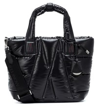Moncler Powder Quilted Tote Black