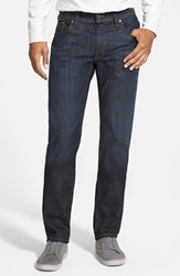 Fidelity 'Jimmy' Slim Straight Leg Jeans Clampdown Dark