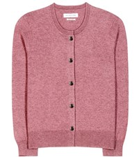 Etoile Isabel Marant Kallie Cotton And Wool Cardigan Pink