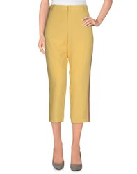 N 21 N 21 Trousers Casual Trousers Women Yellow