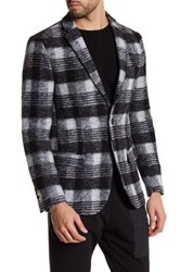 Antony Morato Plaid Super Slim Fit Blazer Gray