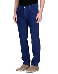 Care Label Casual Pants Dark Blue