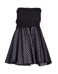 Zu Elements Short Dresses Black