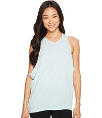 Lucy Keep Calm Tank Top Washed Blue Women's Sleeveless Multi
