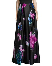 Milly Katie Butterfly Print Maxi Skirt Multi