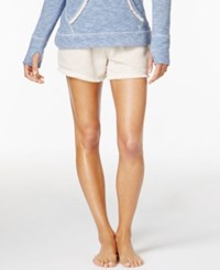Lucky Brand Brushed Terry Pajama Shorts Oatmeal