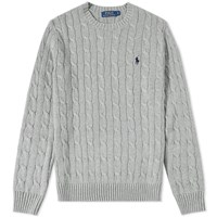 Polo Ralph Lauren Cable Crew Knit Grey