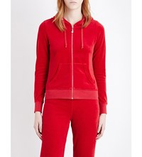 Juicy Couture Robertson Velour Hoody Regal
