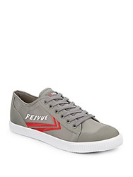 Feiyue Fe Lo Ii Sneakers Grey Red