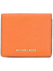 Michael Michael Kors Jet Set Wallet Yellow Orange