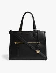 Aldo Dhanbad Faux Leather Tote Black
