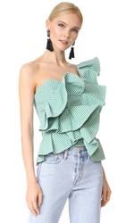 Stylekeepers She's All That Top Checked Green