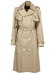 Undercover Trench Coat Nude And Neutrals