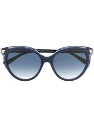 Cartier Panthere Oversized Frame Sunglasses 60